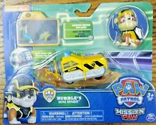 Paw Patrol Mission Paw Rubbles Mini Miner Vehicle