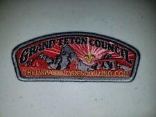 Boy Scout Grand Teton Council The University of Scouting CSP/SAP