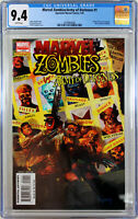 MARVEL ZOMBIES vs. ARMY OF DARKNESS #1 ARTHUR SUYDAM COMIC BOOK ~ CGC 9.4 NM