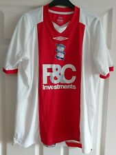 Birmingham City Blue Umbro Away Football Shirt 2008 / 10 Blues Size Small KRO