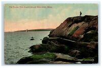 Postcard The Rocks, Ten Pound Island, Gloucester, Mass MA H26