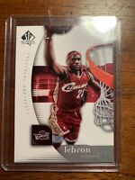 LEBRON JAMES 2005/06 UPPER DECK SP AUTHENTIC #14 LAKERS CAVALIERS