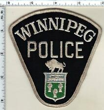 Winnipeg Police (Canada) Uniform Take-Off Shoulder Patch from the 1970's