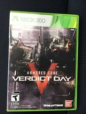 Armored Core: Verdict Day (Microsoft Xbox 360, 2013) No manual