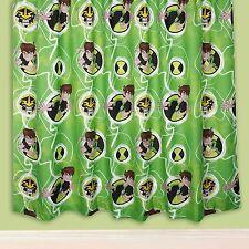 Boys Green Ben 10 Curtains 54s - Omniverse