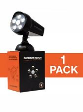 Guardian Torch Home Security Spotlight Solar Powered 5 Led Motion Activated