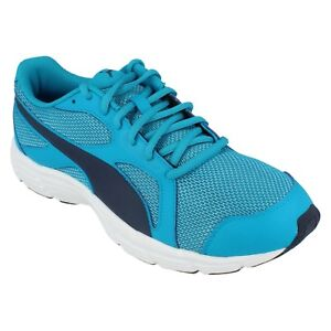 PUMA AXIS V4 MESH MENS LACE UP SLIGHTLY PADDED COLLAR LIGHT WEIGHT TRAINER SHOE