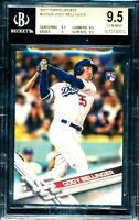 2017 Topps Update Cody Bellinger Rookie #US50 SWINGING RC GEM MINT BGS 9.5!