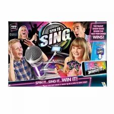 Spin to Sing Gamesinging Competition Game for All The Family - Ages 6 REDUCED