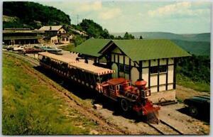 "Bluefield, West Virginia Postcard ""THE RIDGE RUNNER"" Tourist Train Railroad 1967"