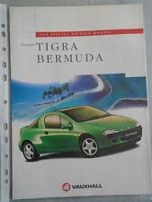 OPEL Tigra Bermudas Folleto de edición especial 1998
