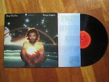 KENNY LOGGINS Keep The Fire LP USA COLUMBIA SOFT ROCK NO CD