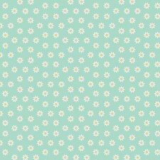 Printed Bow Fabric A4 Canvas Daisy Daisies Flowers FL1 Make glitter bow