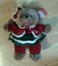 DanDee Collectors Choice SNOWFLAKE TEDDY 2007~NEW With tags and display hook