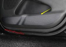 Carbon Fiber Door Anti Kick Pad Protective Trim For Jeep Grand Cherokee 14-18