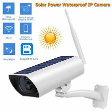 Hd 1080P Solar Power Ip Camera Wireless Wifi Surveillance Camera Night Visions