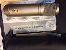 Sterling Audio ST66 Large Diaphragm Tube Condenser Microphone Studio Recording