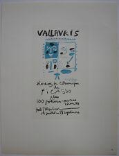 Pablo Picasso dix ans ceramique 1958 Orig Lithografie Maitres de l'Ecole 1959