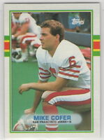 1989 Topps Football Team Sets **Pick Your Team**
