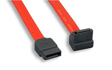 SATA Serial ATA data cable 1M 3Ft 36in 90-degree red