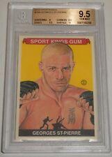Georges St-Pierre 2010 Sportkings Card #184 BGS 9.5 Gem Mint UFC 100 GSP 217 158