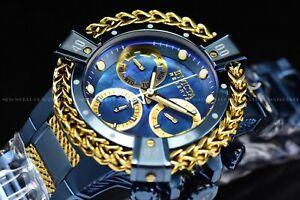 Invicta Woman 43mm Reserve Bolt Hercules Swiss BLUE LABEL Chronograph SS Watch