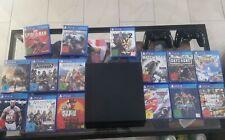Sony Playstation 4 / Ps4 1TB, mit 2 Controllern und 15 Spielen