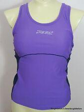 Zoot Athletic Running Tennis Cycling Tank Top Womens M Water Pockets Shelf Bra