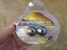 "T-Rocks (1) Set Magnetic Hematite Sphere Crystal Ball Healing 1"" Magnets Zipper"