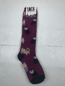Sock It To Me Unisex STRETCH-IT Knee High Socks - Pug Life