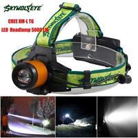 5000LM CREE XM-L T6 LED Waterproof Headlamp Headlight Flashlight Head Light Lamp