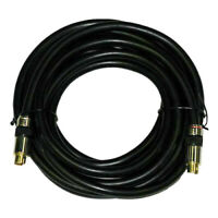 15 Ft High Performance Mini Din 4-pin S-Video SVideo Cable For TV/VCR/DVD/CABLE