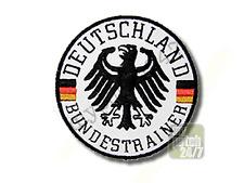 Un écusson équipe Allemagne aigle fédéral entraîneur brodés 7,5cm NEUF