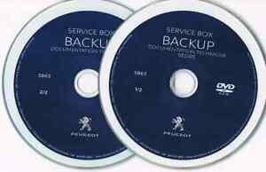 PEUGEOT SERVICE BOX 1/2014 TIS+EPC+WDS WIRING DIAGRAMS EPC WORKSHOP MANUAL DVD