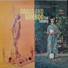 Brass and Bamboo Tak Shindo Vintage Vinyl Record LP VG+ T1345