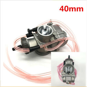 40mm Carburetor for Motorcycle Scooters Dirt Bike ATV For 2T or 4T engine