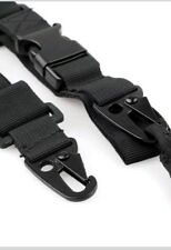 Adjustable 3 Point Tactical Paint Ball Air Soft Rifle Sling Hunting Gun Strap