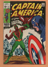 Captain America #117 Marvel Comics 1st App Falcon 1969 FN