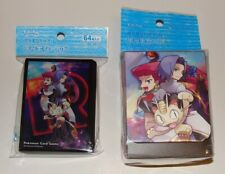 Japanese Pokemon, Team Rocket Deck Case & 64 Sleeves Factory Sealed