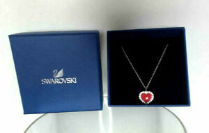 New with Tags Swarovski Serenade Heart Shaped Pendant Necklace
