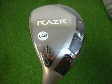 BRAND NEW LH CALLAWAY RAZR X 24* 4 HYBRID 4H SENIORS FLEX GRAPHITE SHAFT