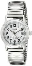 Casio Stainless Steel Quartz (Solar Powered) Wristwatches