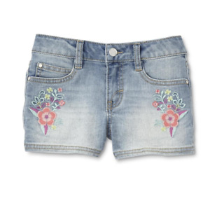 Route 66 Girls' Jean Shorts - Floral Various Sizes NWT
