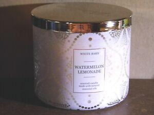 """Bath & Body Works """"WATERMELON LEMONADE"""" 3 Wick Candle Brand New"""