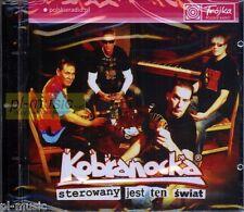 = KOBRANOCKA - STEROWANY JEST TEN SWIAT /CD sealed /POLSKIE RADIO poleca