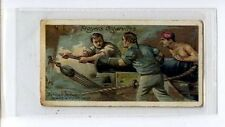 (Ju465-100)Players,Life On Board Man Of War,Between Decks During a Fight ,1905#