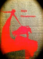 """1969 UNIVERSITY OF HOUSTON YEARBOOK """"Houstonian""""~VERY  fine, used condition"""