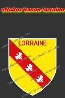 Sticker blason Lorraine BLASON STICKER  120X100MM AUTOCOLLANT STICKERS MOTO