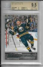 2015/16 Upper Deck Jack Eichel Young Guns RC BGS 9.5