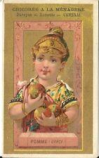 Chromo chicorée A la Ménagère Pomme Grèce